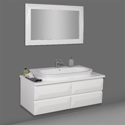 """120 ס""""מ  ארון אמבטיה"""