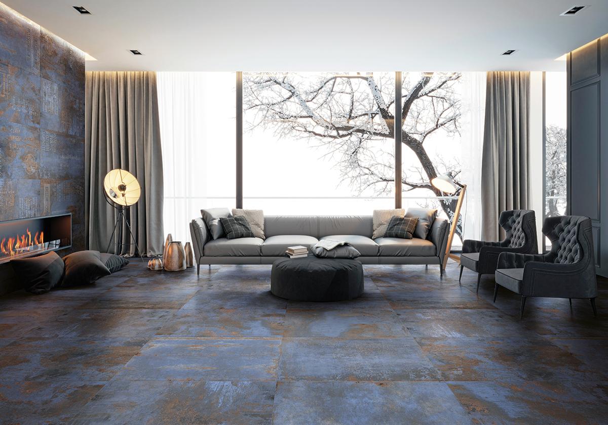 סדרת אריחי רצפה וקיר פלטירון