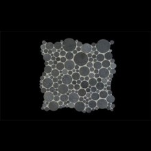 פסיפס אבן מיוחד כהה