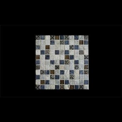 פסיפסים אבן משולב זכוכית